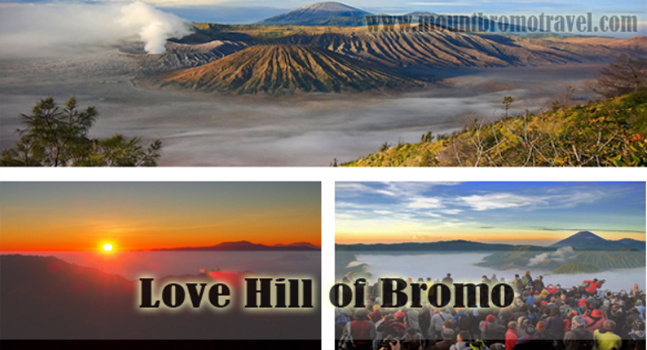 Love Hill of Bromo the Alternative Place to See the Sunrise