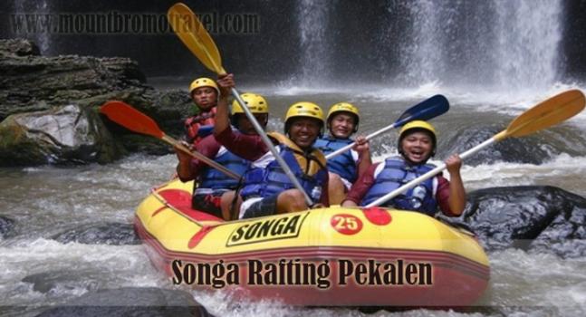 Songa Rafting Pekalen in Probolinggo
