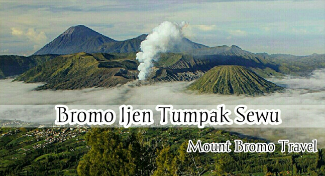Mount Bromo Ijen Sewu Waterfall Tour
