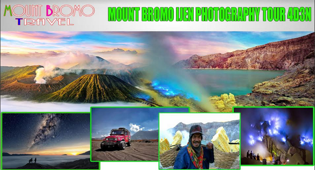 Mount Bromo Ijen Photography Tour 4D3N